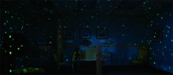 Starry starry night in hospital scene, Mr Magorium's Wonder Emporium