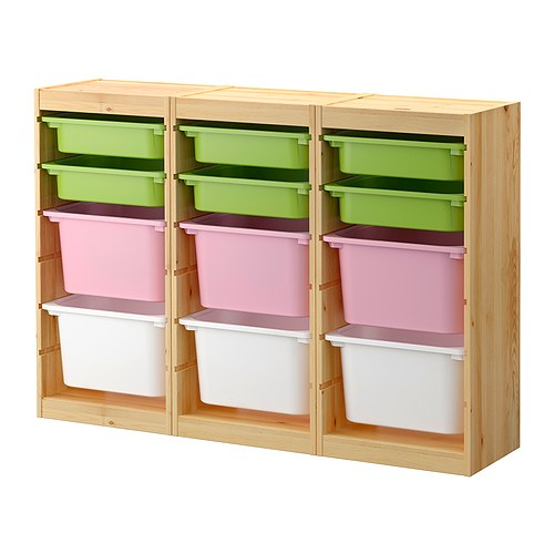 Trofast toy storage, via IKEA