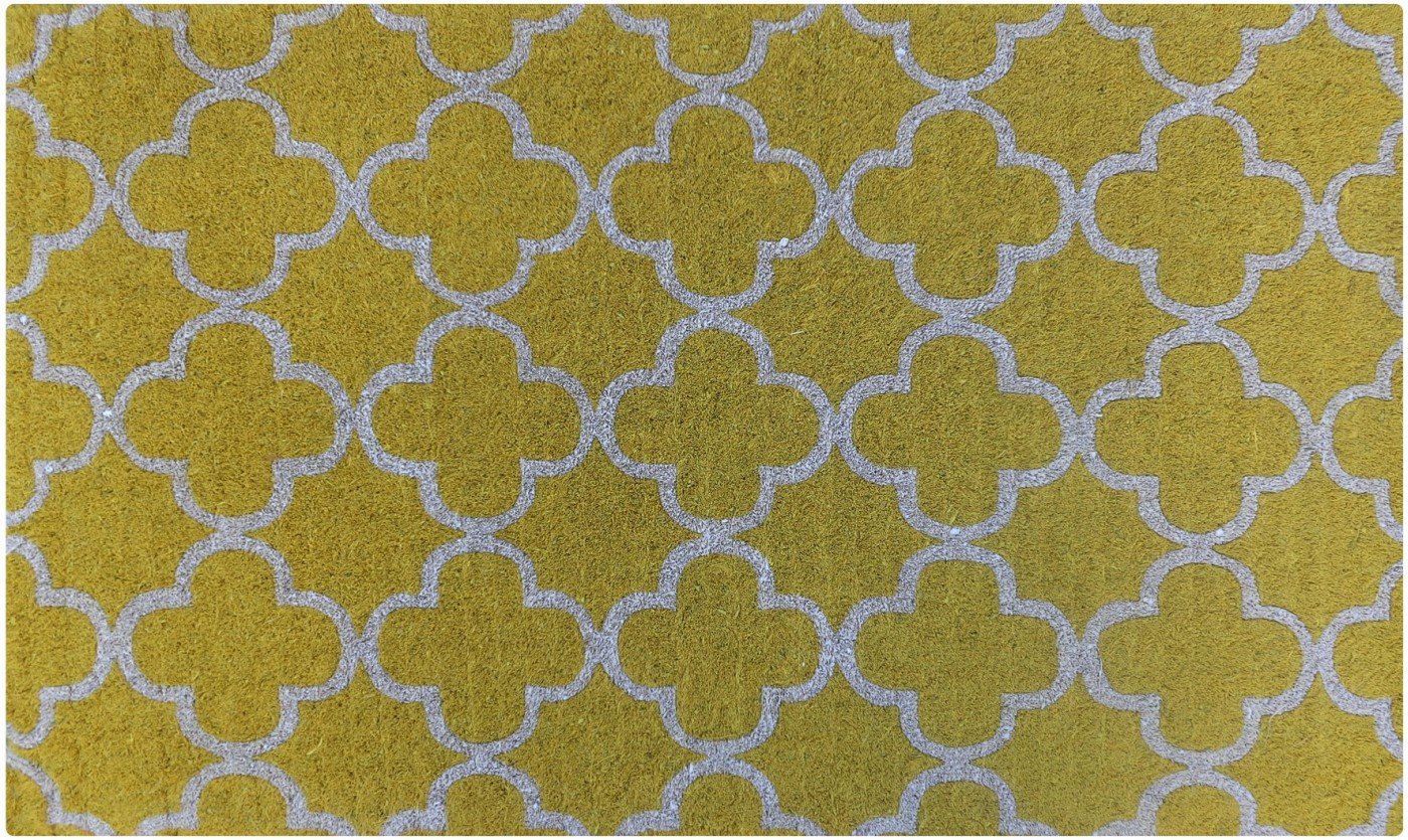 Yellow tile doormat, AUD$72 from Interiors Online