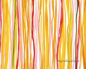 Alexander Henry Seaweed Stripe fabric, now disappointingly discontinued.