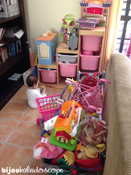 Can you spot my lost Jasmine in amongst all these large toys?