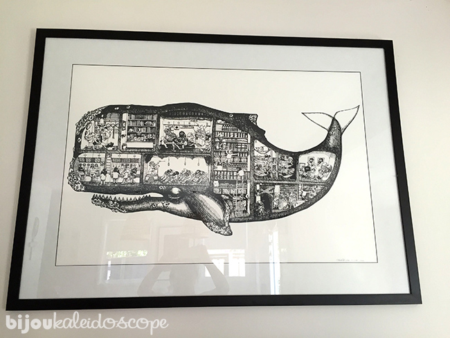 The Whale Men Submarine by Mikaela Fuch @bijoukaleidoscope
