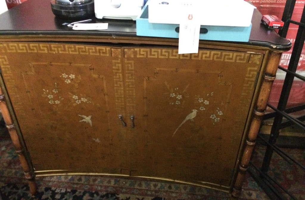 Chinoiserie cabinet used in White Collar