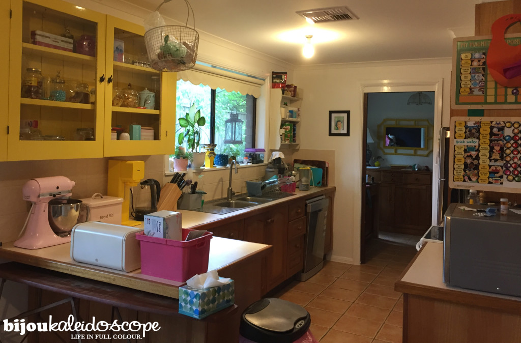 My kitchen as of Feb 2016 @bijoukaleidosope