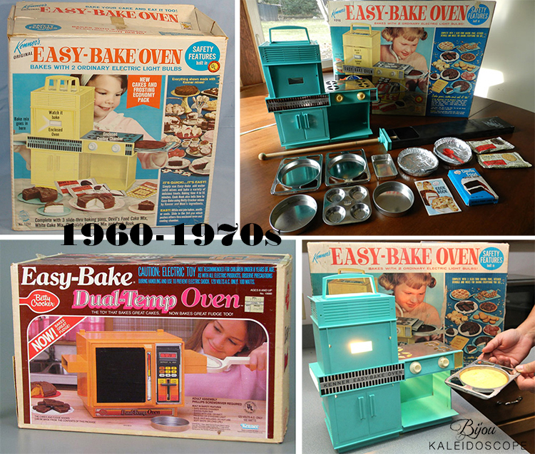 VIntage 50-60s Easy Bake ovens by Kenner Toys