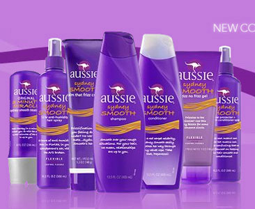 The Aussie Shampoo brand line of products