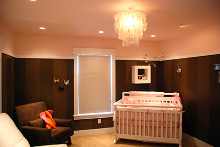 elisie's nursery and Apartment Therapy