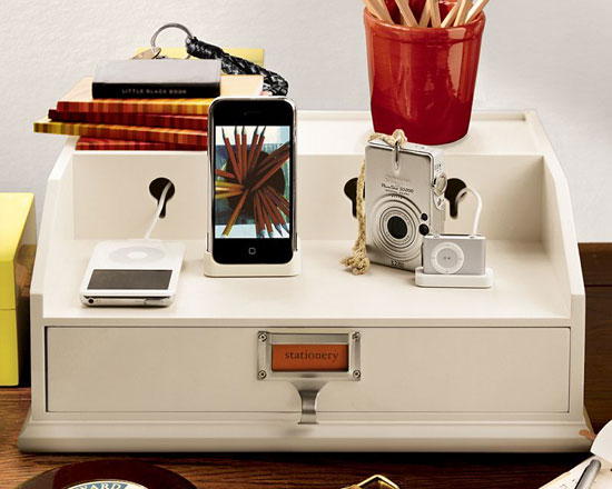 Pottery Barn charging station