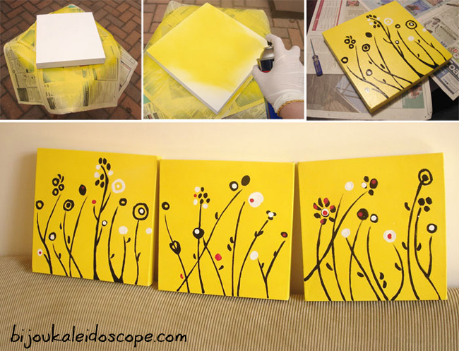 The gift I made for Vern and Sher as a wedding gift in yellow white and black. Yellow is Sherlyn's favourite colour.
