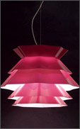 Antonangeli's Stars chandelier in rose