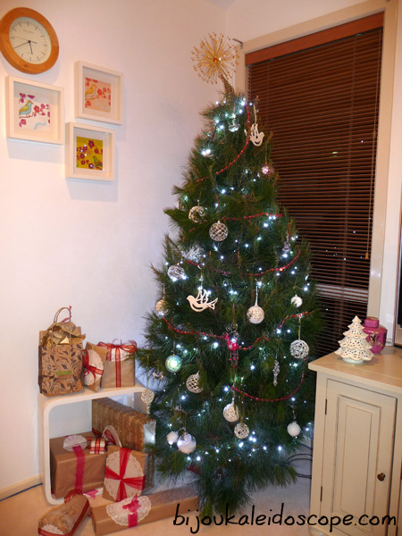 Our first real Christmas tree 2008